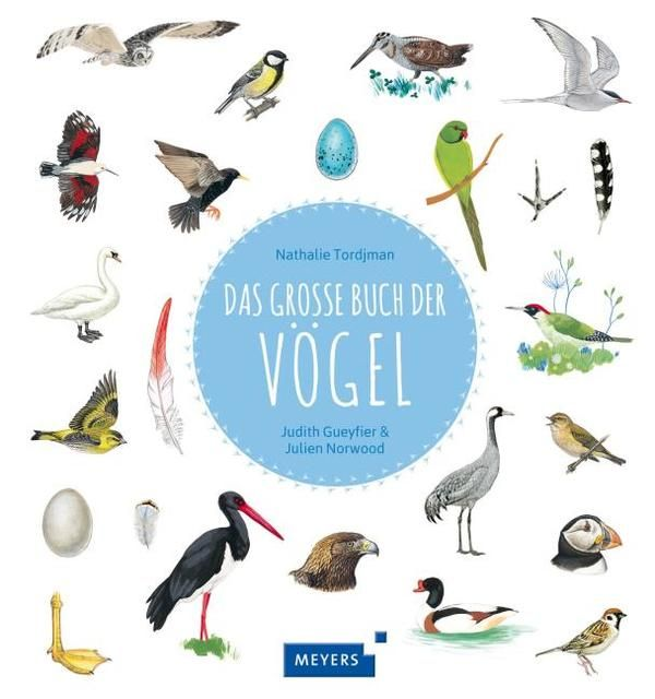 Tjordman, Nathalie: Das große Buch der Vögel