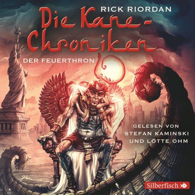 Riordan, Rick: Der Feuerthron