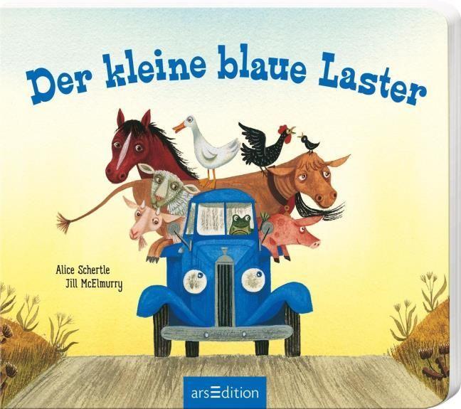 Schertle, Alice: Der kleine blaue Laster