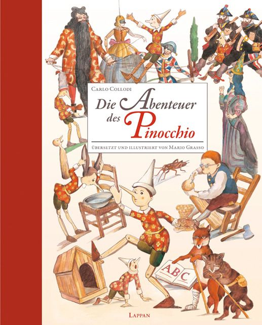 Collodi, Carlo: Die Abenteuer des Pinocchio