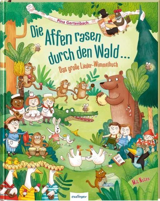 : Die Affen rasen durch den Wald ...