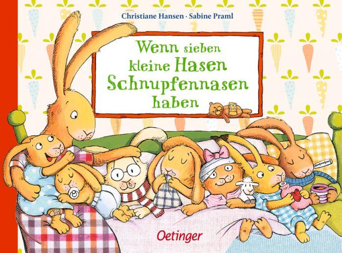Praml, Sabine: Wenn sieben kleine Hasen Schnupfennasen haben