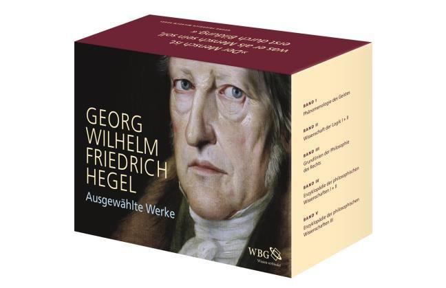 Hegel, Georg Wilhelm Friedrich: Ausgewählte Werke