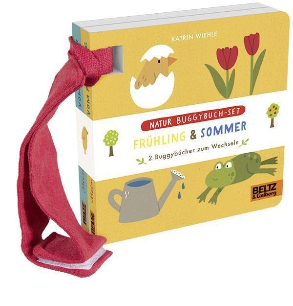 Wiehle, Katrin: Natur Buggybuch-Set: Frühling und Sommer