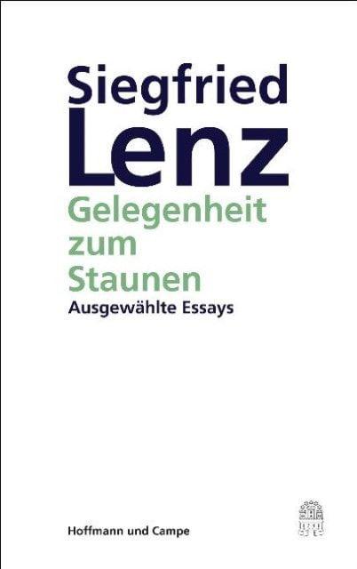 Lenz, Siegfried: Gelegenheit zum Staunen