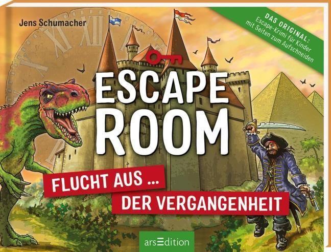 Schumacher, Jens: Escape Room - Eingesperrt in der Vergangenheit