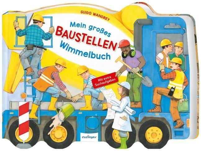 : Mein großes Baustellen-Wimmelbuch