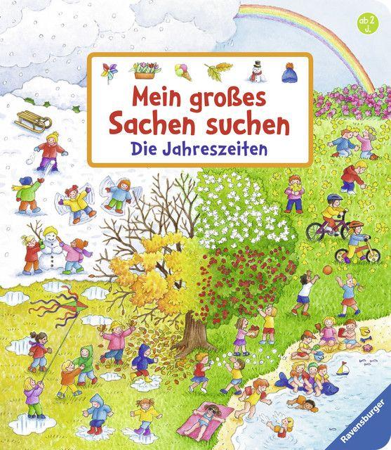 Gernhäuser, Susanne: Mein großes Sachen suchen: Die Jahreszeiten