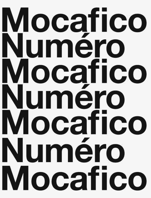 Mocafico, Guido: Mocafico Numéro