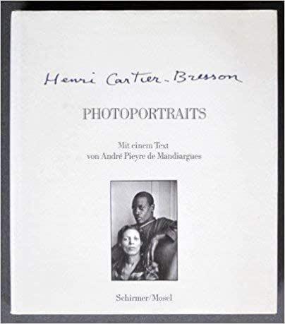 André Pieyre de Mandiargues: Photoportraits, Henri Cartier-Bresson