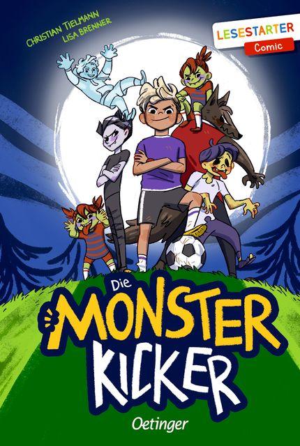 Tielmann, Christian: Die Monsterkicker
