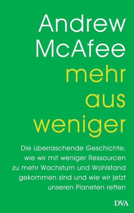 McAfee, Andrew: Mehr aus weniger