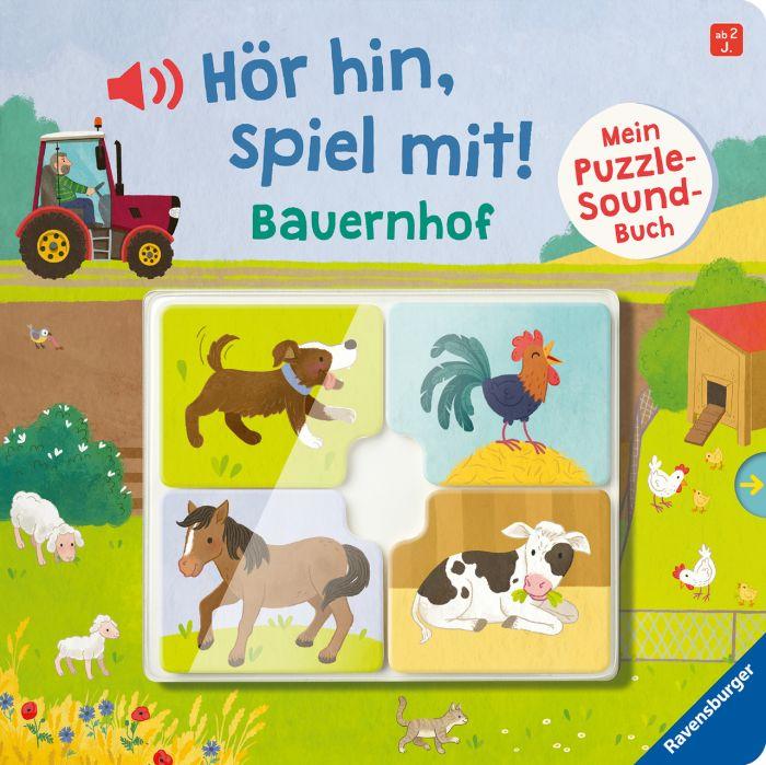 Grimm, Sandra: Hör hin, spiel mit! Mein Puzzle-Soundbuch. Bauernhof