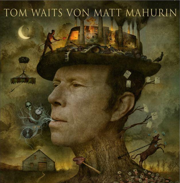 Waits, Tom/Mahurin, Matt: Tom Waits von Matt Mahurin