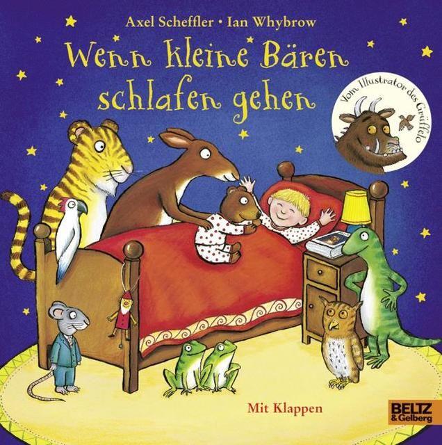 Scheffler, Axel/Whybrow, Ian: Wenn kleine Bären schlafen gehen