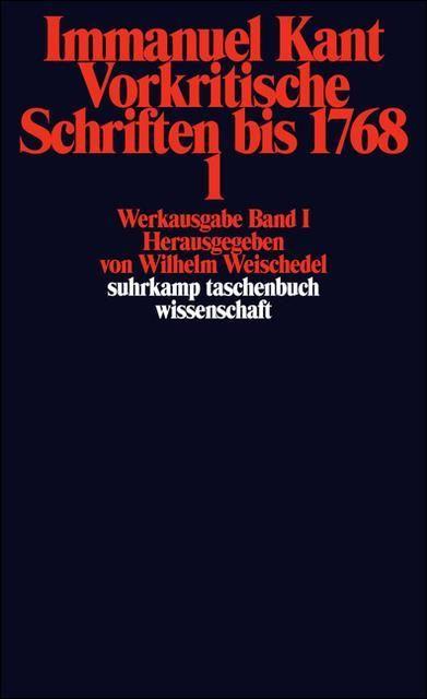 Kant, Immanuel: Werkausgabe