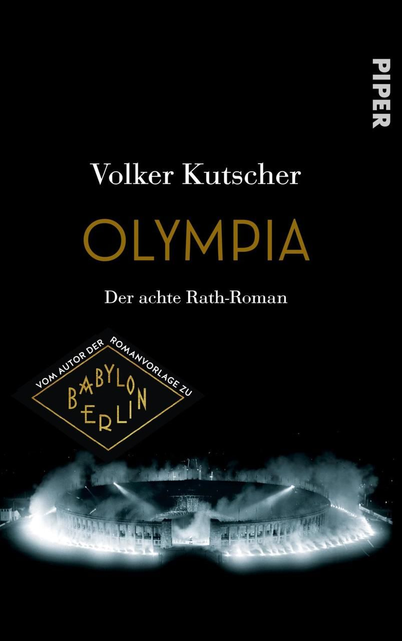 Olympia, Kutscher, Volker, Piper Verlag, EAN/ISBN-13: 9783492070591