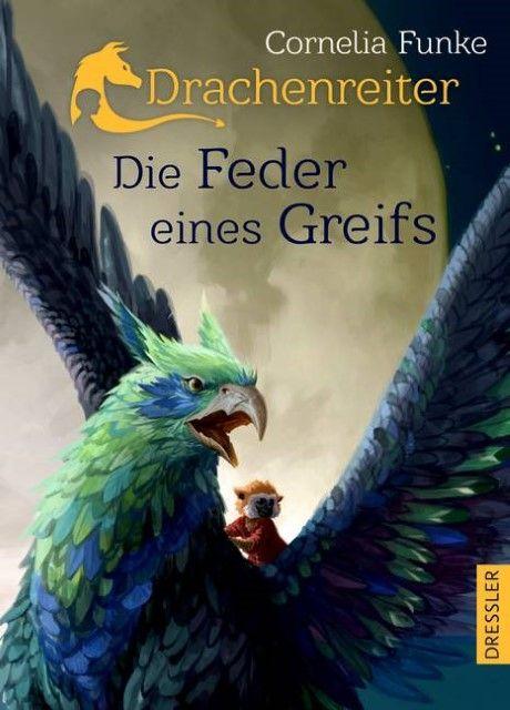 Funke, Cornelia: Drachenreiter - Die Feder eines Greifs