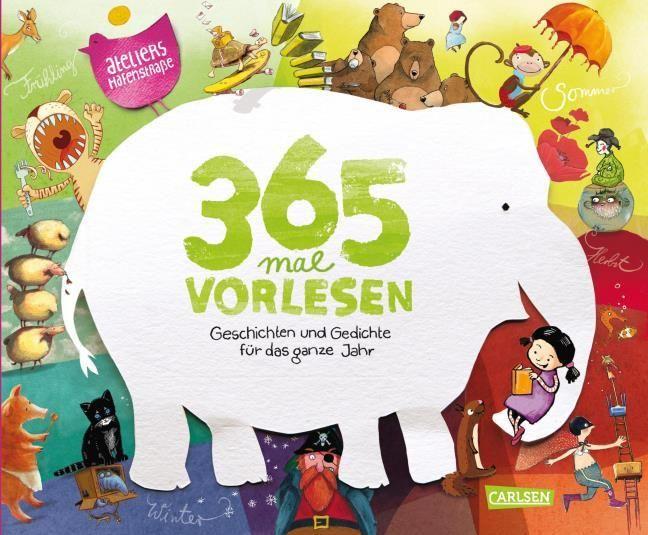 Ateliers Hafenstraße 64: 365 mal Vorlesen (Buchausgabe)