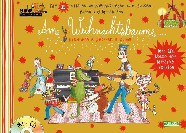 Biermann, Franziska/Kacirek, Nils: Am Weihnachtsbaume GOLD
