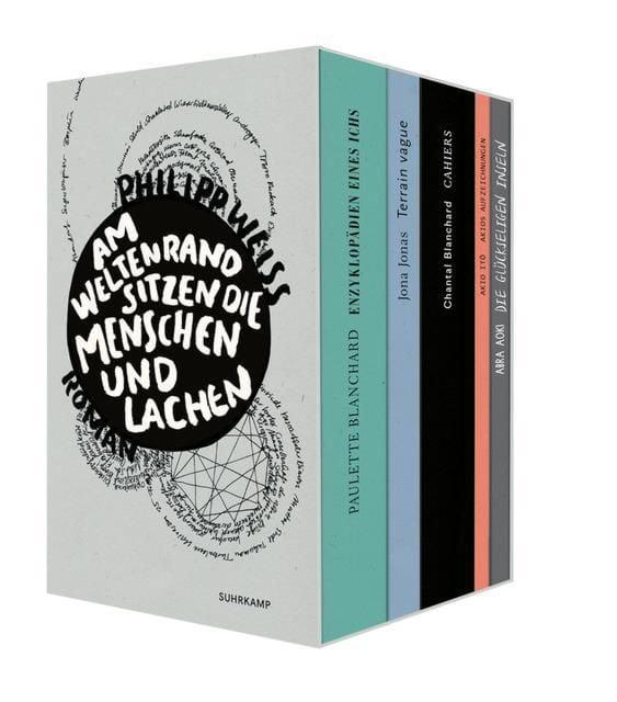 Weiss, Philipp: Am Weltenrand sitzen die Menschen und lachen