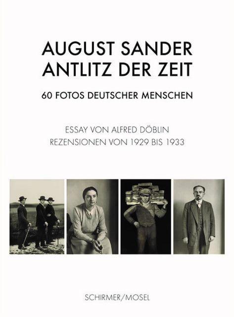 Sander, August: Antlitz der Zeit