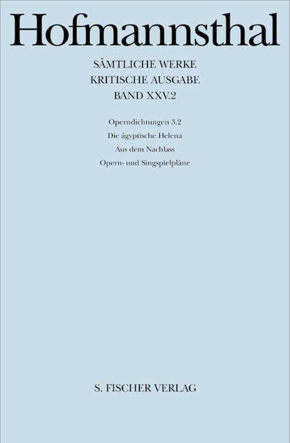 Hofmannsthal, Hugo von: Ballette, Pantomimen, Filmszenarien