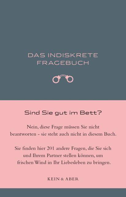 Clement, Ulrich: Das indiskrete Fragebuch