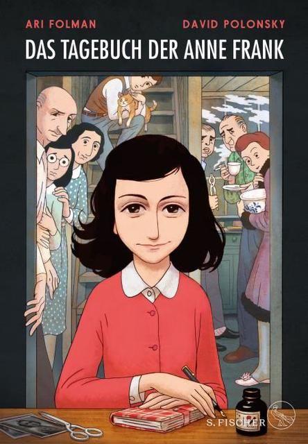 Folman, Ari/Frank, Anne/Polonsky, David: Das Tagebuch der Anne Frank
