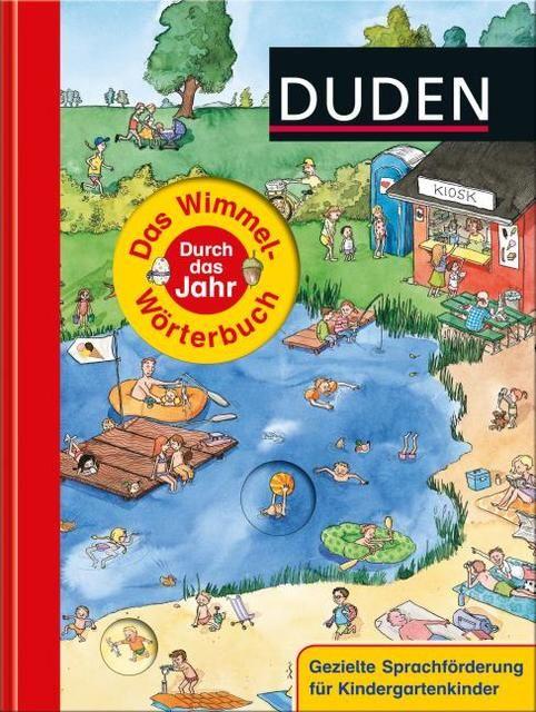 : Das Wimmel-Wörterbuch - Durch das Jahr