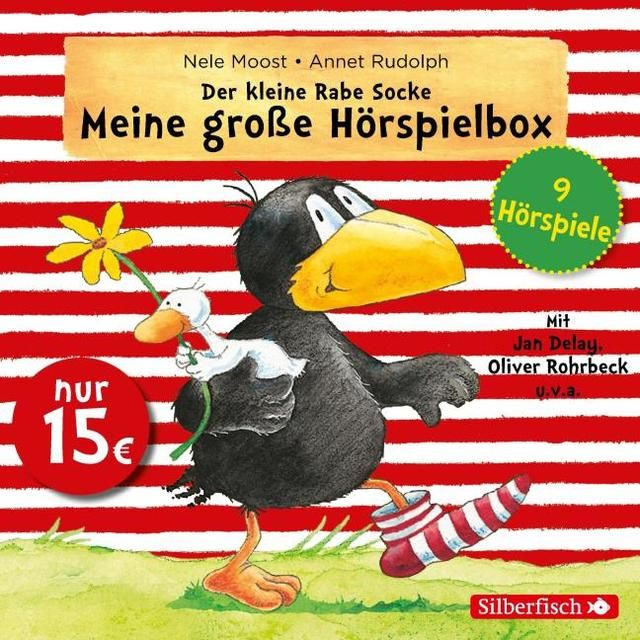 Moost, Nele/Rudolph, Annet: Der kleine Rabe Socke - Meine große Hörspielbox