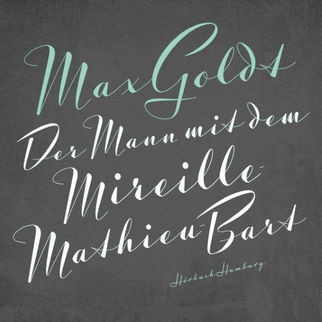 Goldt, Max: Der Mann mit dem Mireille-Mathieu-Bart