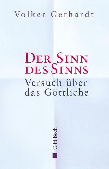 Gerhardt, Volker: Der Sinn des Sinns