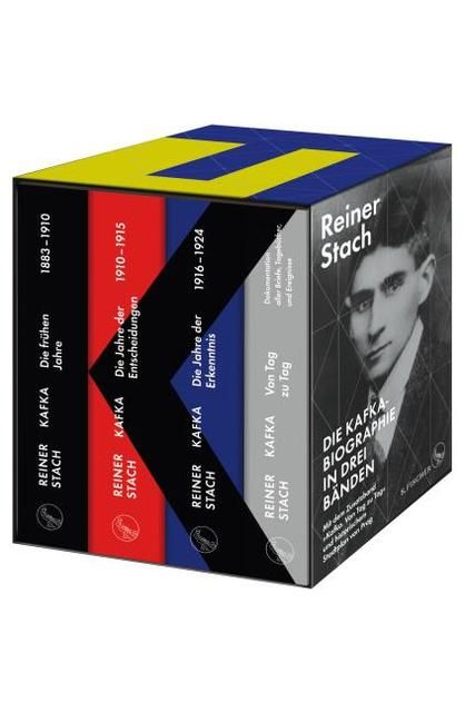 Stach, Reiner: Die Kafka-Biographie in drei Bänden