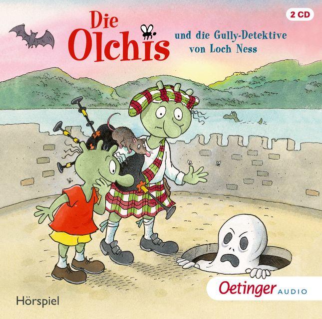 Dietl, Erhard: Die Olchis und die Gully-Detektive von Loch Ness