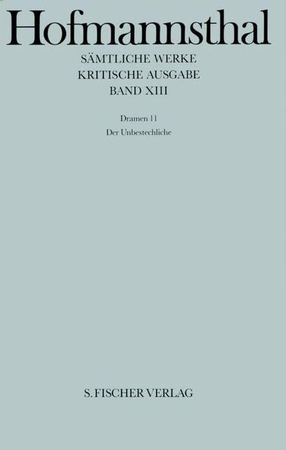 Hofmannsthal, Hugo von: Dramen 11