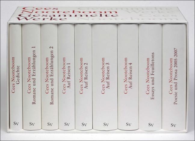 Nooteboom, Cees: Gesammelte Werke in neun Bänden