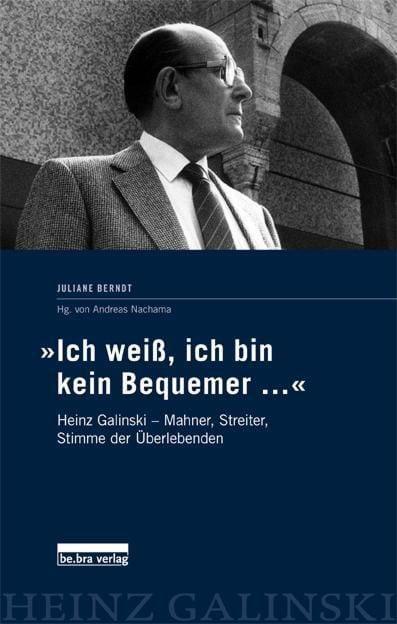 Berndt, Juliane: 'Ich weiß, ich bin kein Bequemer...'