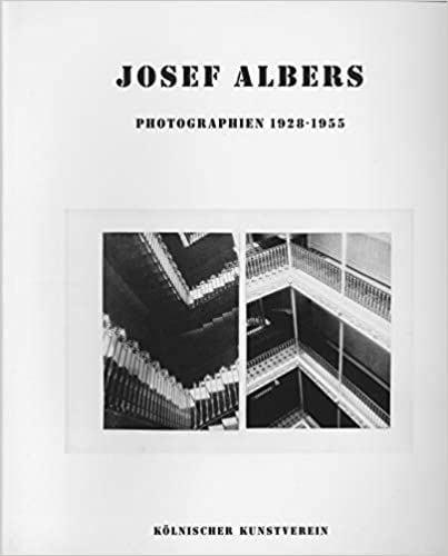 Joseph Albers: Joseph Albers Photographien 1928-1955