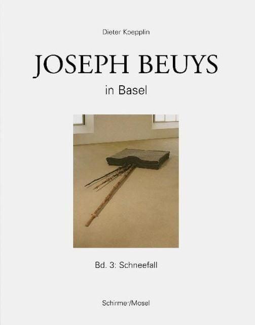 Koepplin, Dieter/Beuys, Joseph: Joseph Beuys in Basel 3