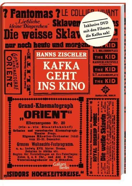 Zischler, Hanns: Kafka geht ins Kino
