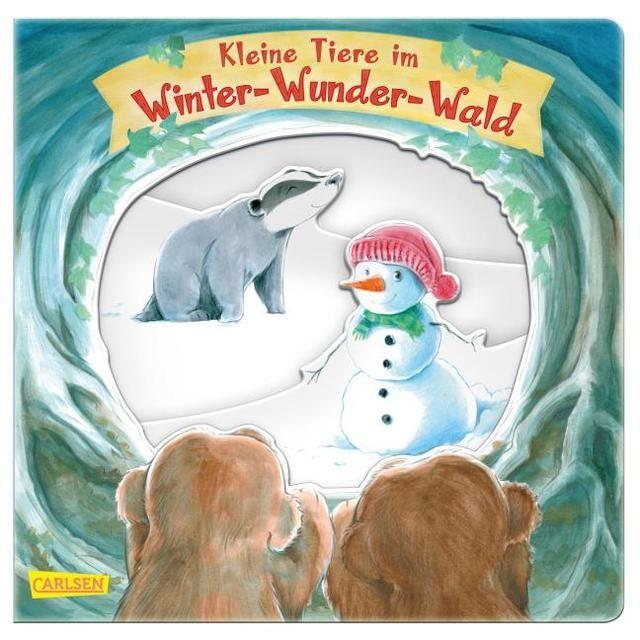 McLean, Gill: Kleine Tiere im Winter-Wunder-Wald