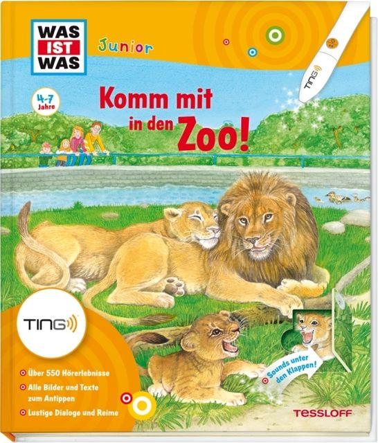Schuck, Sabine/Kaiser, Claudia/Lickleder, Martin: Komm mit in den Zoo!