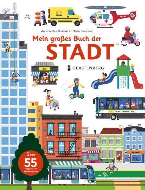 Baumann, Anne-Sophie: Mein großes Buch der Stadt