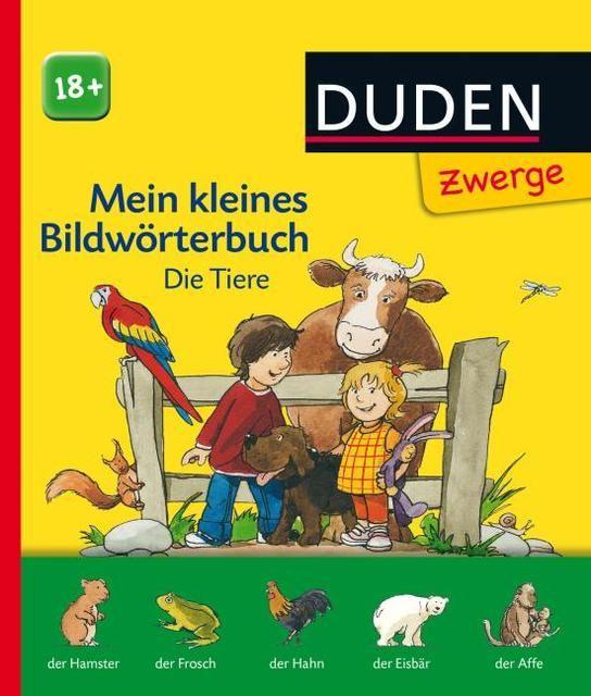 : Mein kleines Bildwörterbuch: Die Tiere