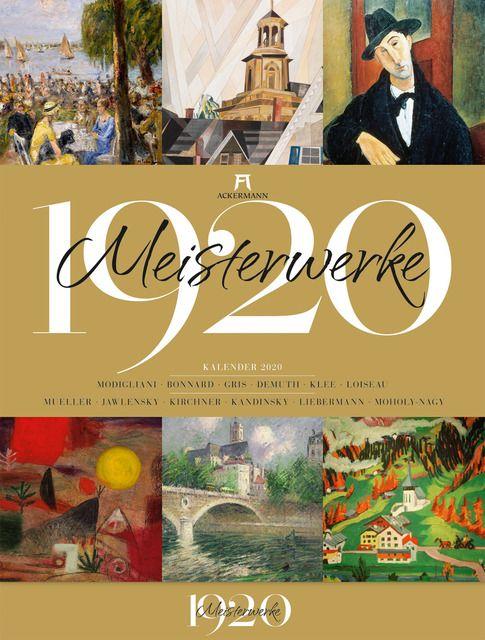 : Meisterwerke 1920 - Kunstkalender 2020