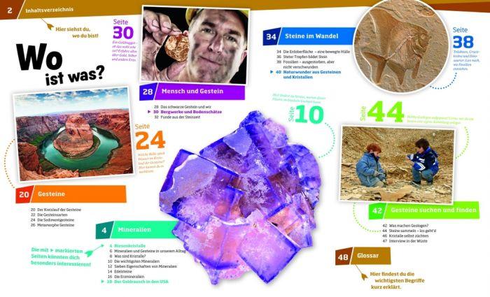 Finan, Karin: Mineralien und Gesteine - Funkelnde Schätze