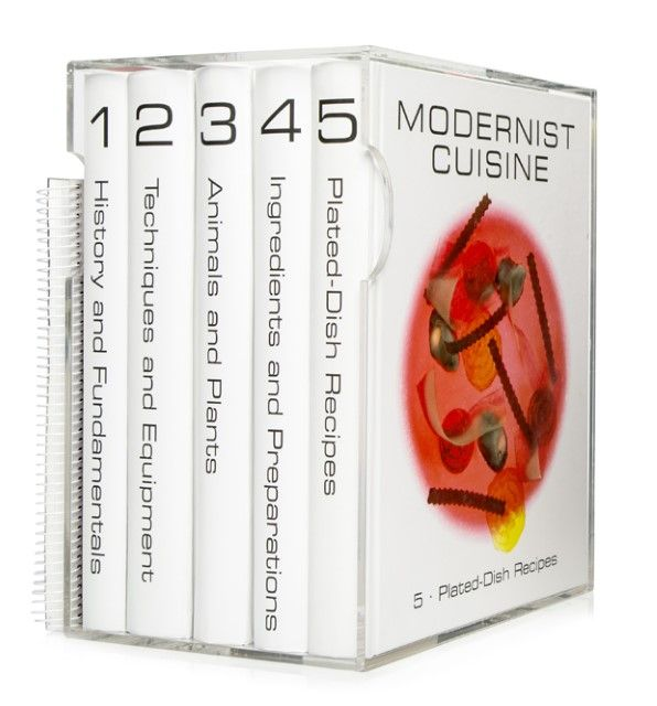 Myhrvold, Nathan: Modernist Cuisine