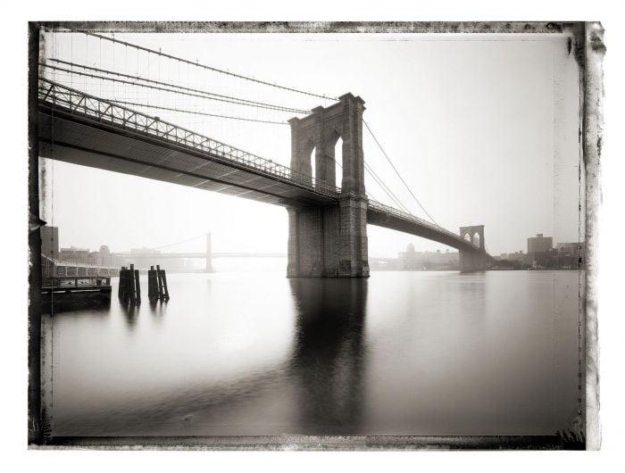 Thomas, Christopher: New York Sleeps - Christopher Thomas.Collector's Edition Brooklyn Bridge