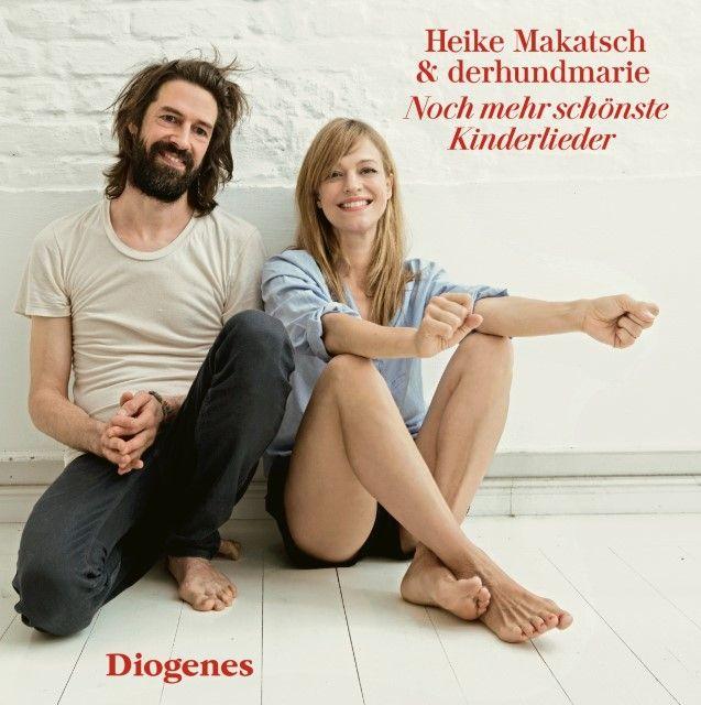 Heike Makatsch & derhundmarie: Noch mehr schönste Kinderlieder